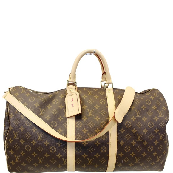 Louis Vuitton Handbags - LOUIS VUITTON KEEPALL 55 BANDOULIERE
